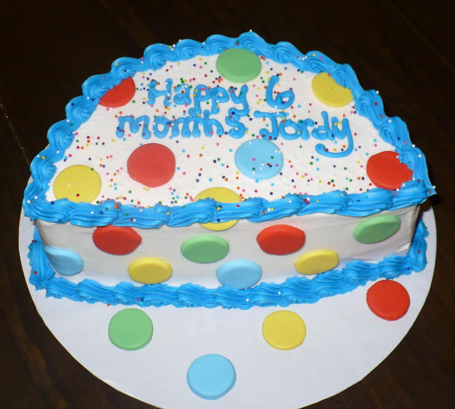 Six month old baby birthday cake ideas 106663 happy birthd for 6 month birthday decorations